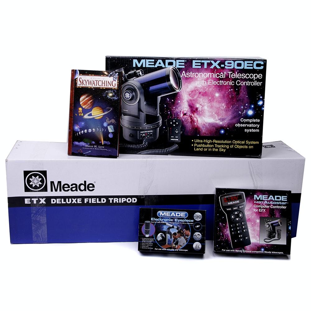 Meade Telescope, Accessories and Stargazing Books