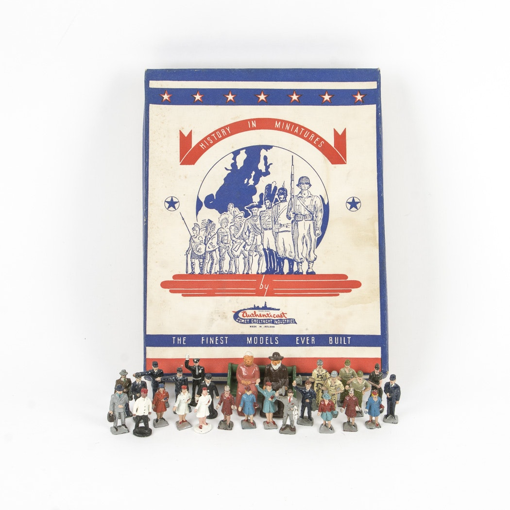 "Authenticast ""History In Miniatures"" Metal Figurines"