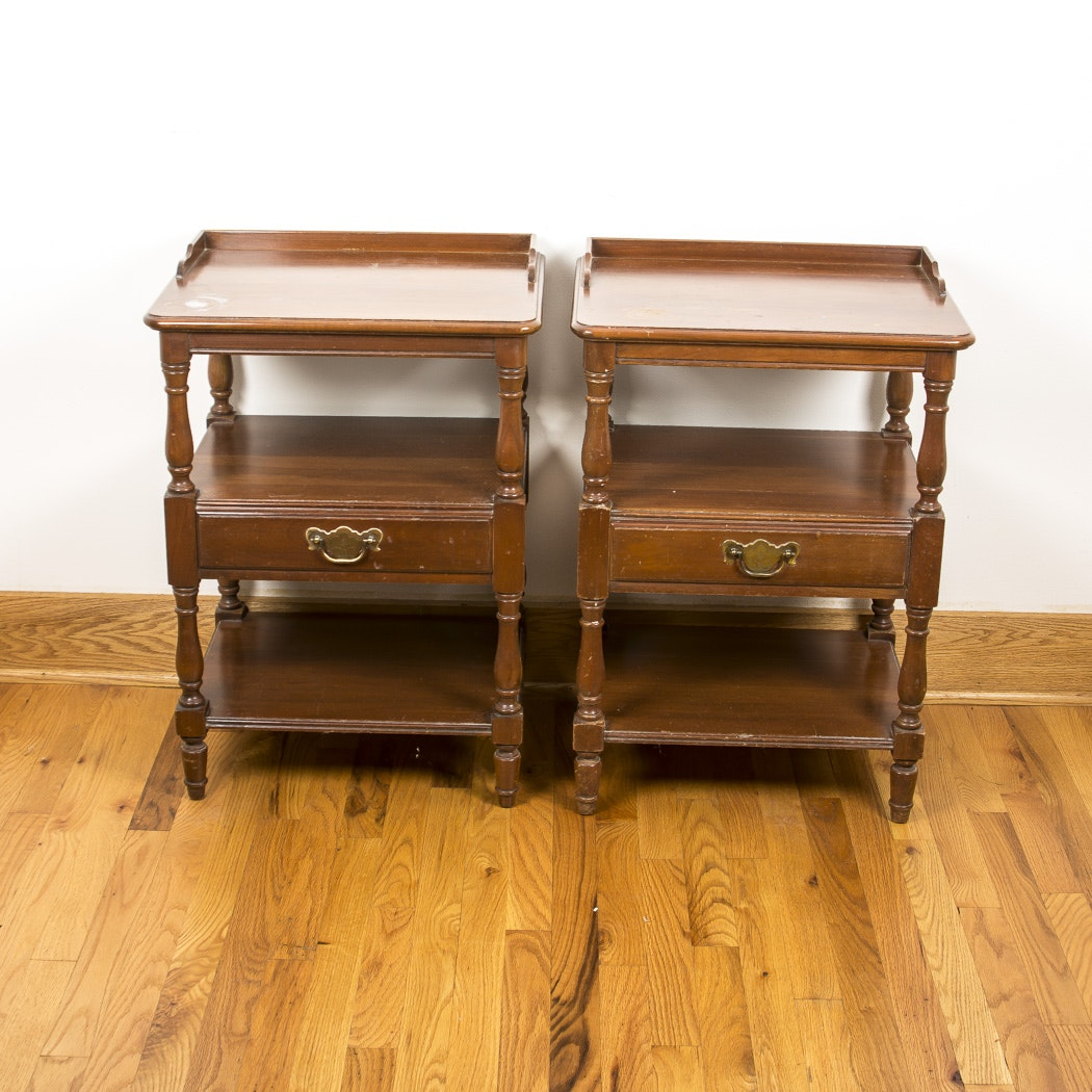 Pair of Pennsylvania House Cherry Nightstands