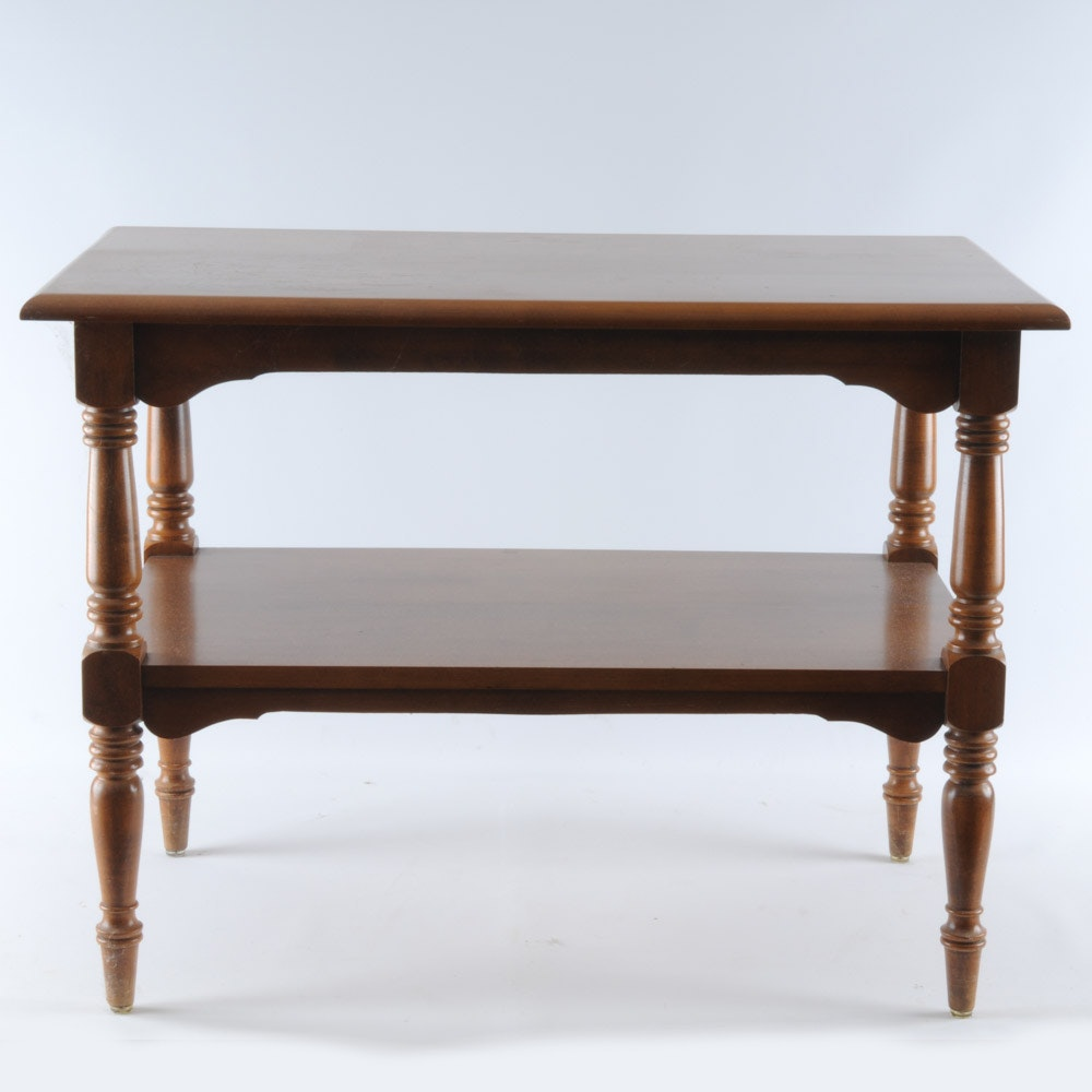 Maple End Table By Winchendon Furniture Co.