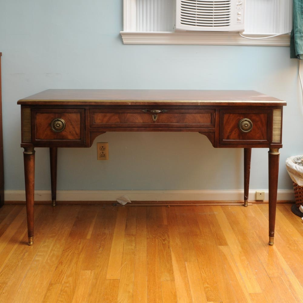 Neoclassical Style Desk by Baker Furniture.