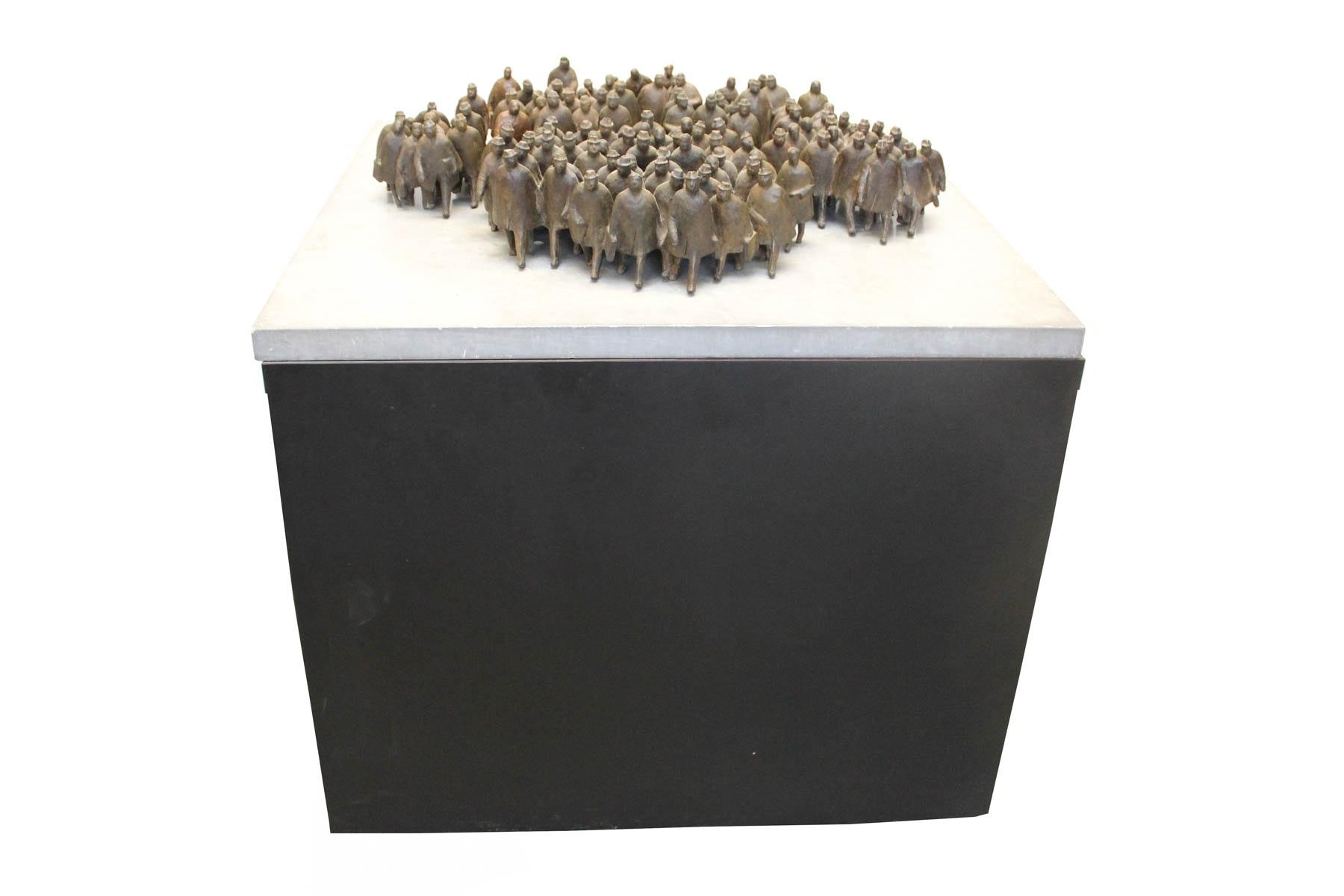 "William Hodd McElcheran ""8:45 A.M."" Bronze Sculpture"