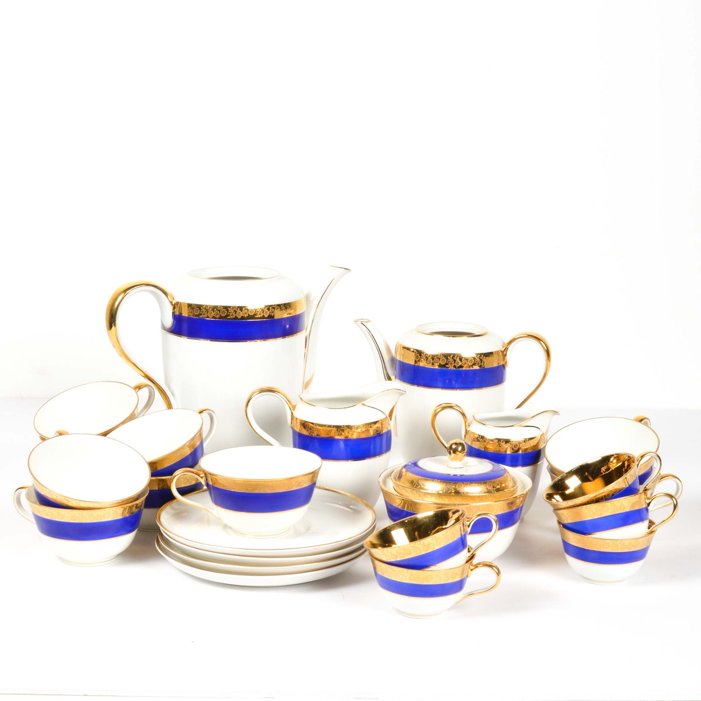 rosenthal helena china tea service ebth. Black Bedroom Furniture Sets. Home Design Ideas