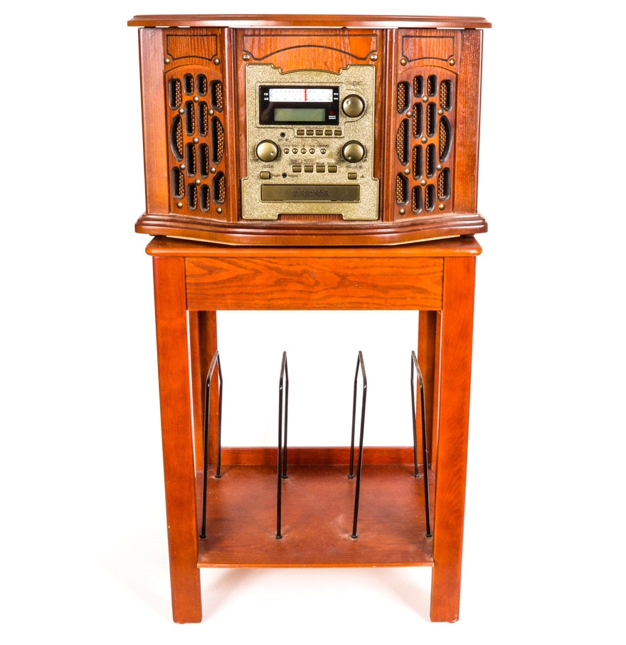 261960241053 besides 5049695 Innovative Technology Vintage Style Stereo Cabi additionally Ricatech Rr700 Jukebox furthermore 37830117 together with Retro Table Top Phone. on tabletop radio with cd player