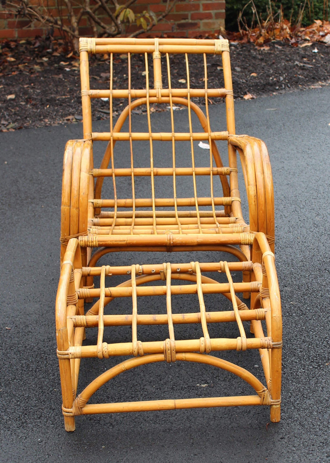 Vintage Rattan Patio Furniture Ebth