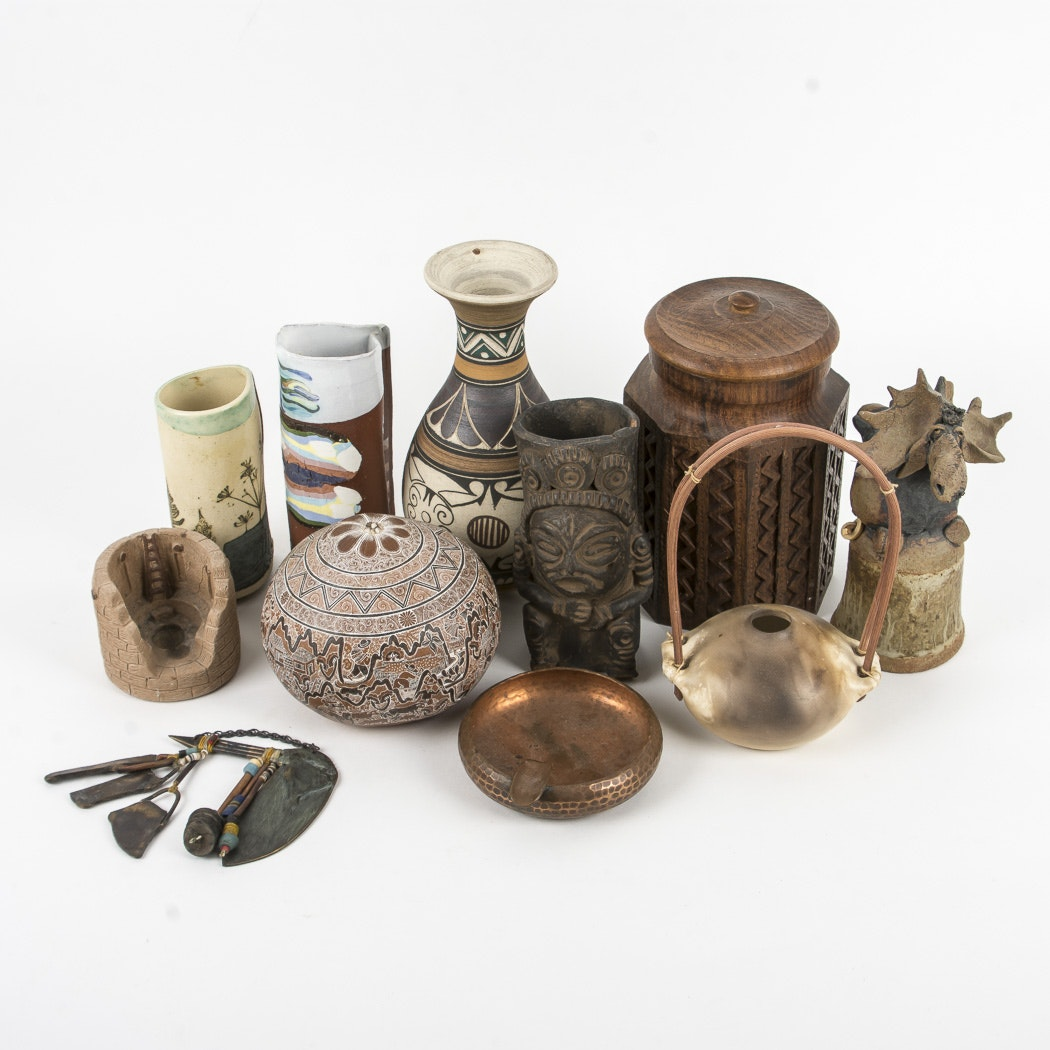 Assortment of Pottery