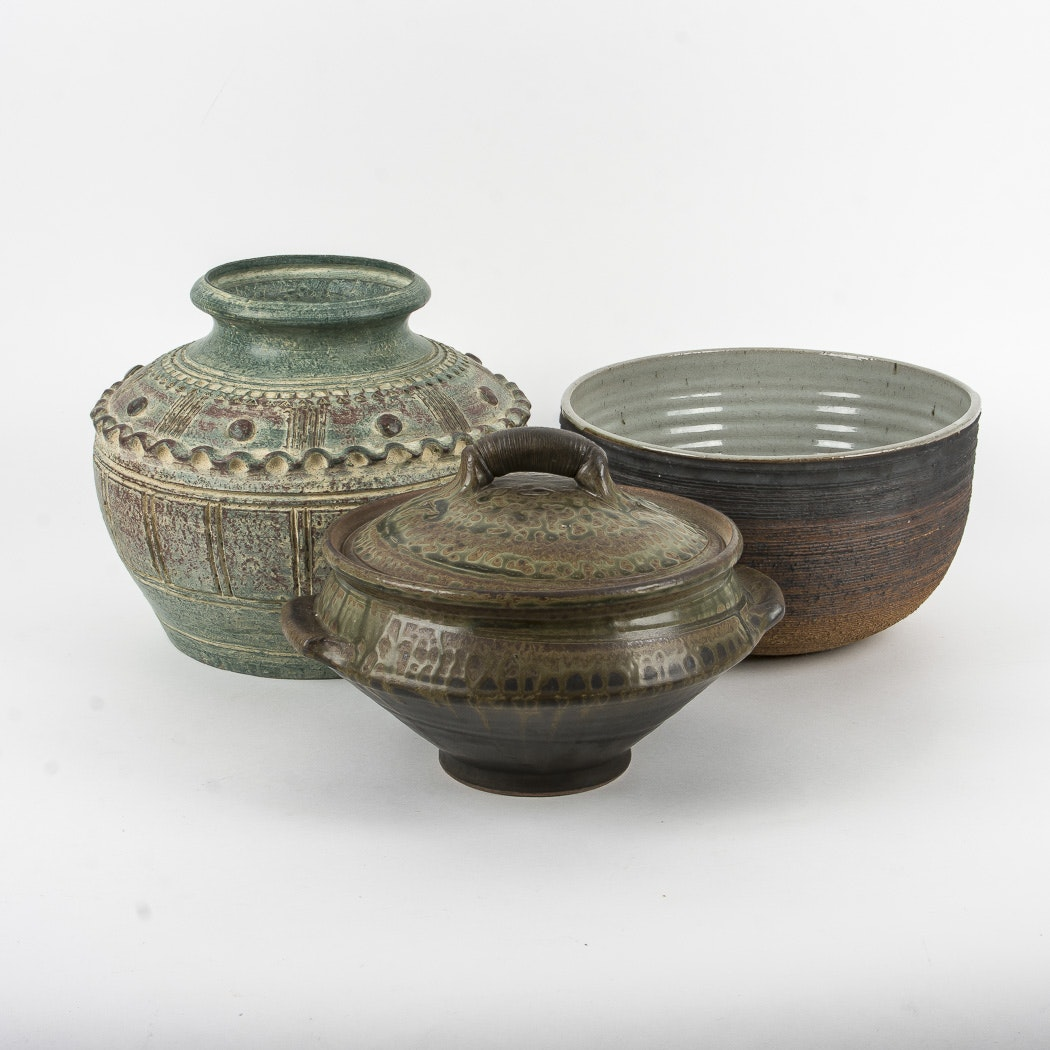 Pottery Bowls and Pots