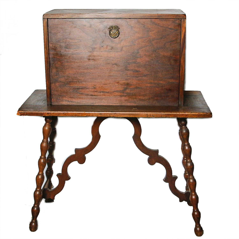 20th Century Spanish Colonial Style Secretary Desk