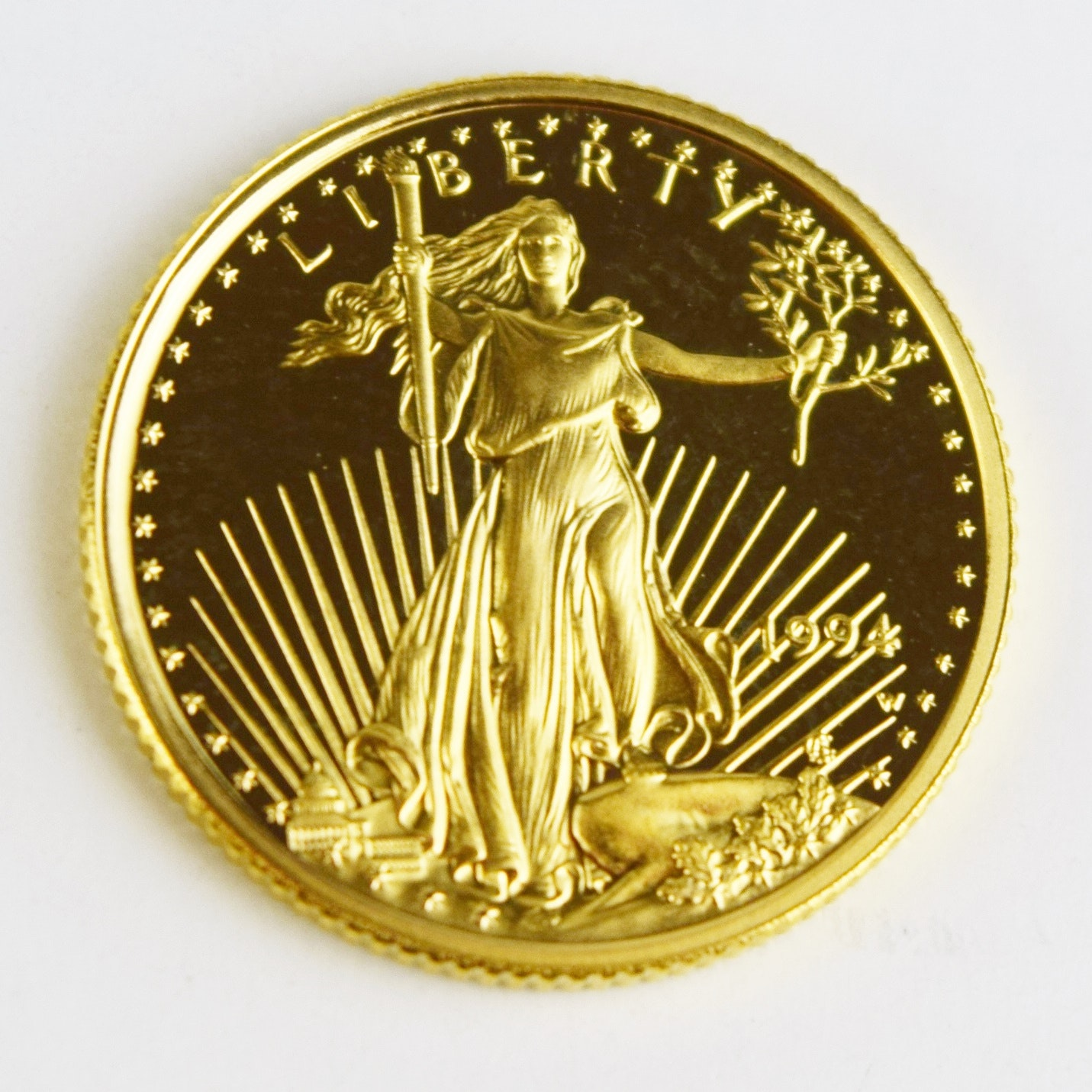 1994 Five Dollar Gold Eagle West Point Mint Proof Coin