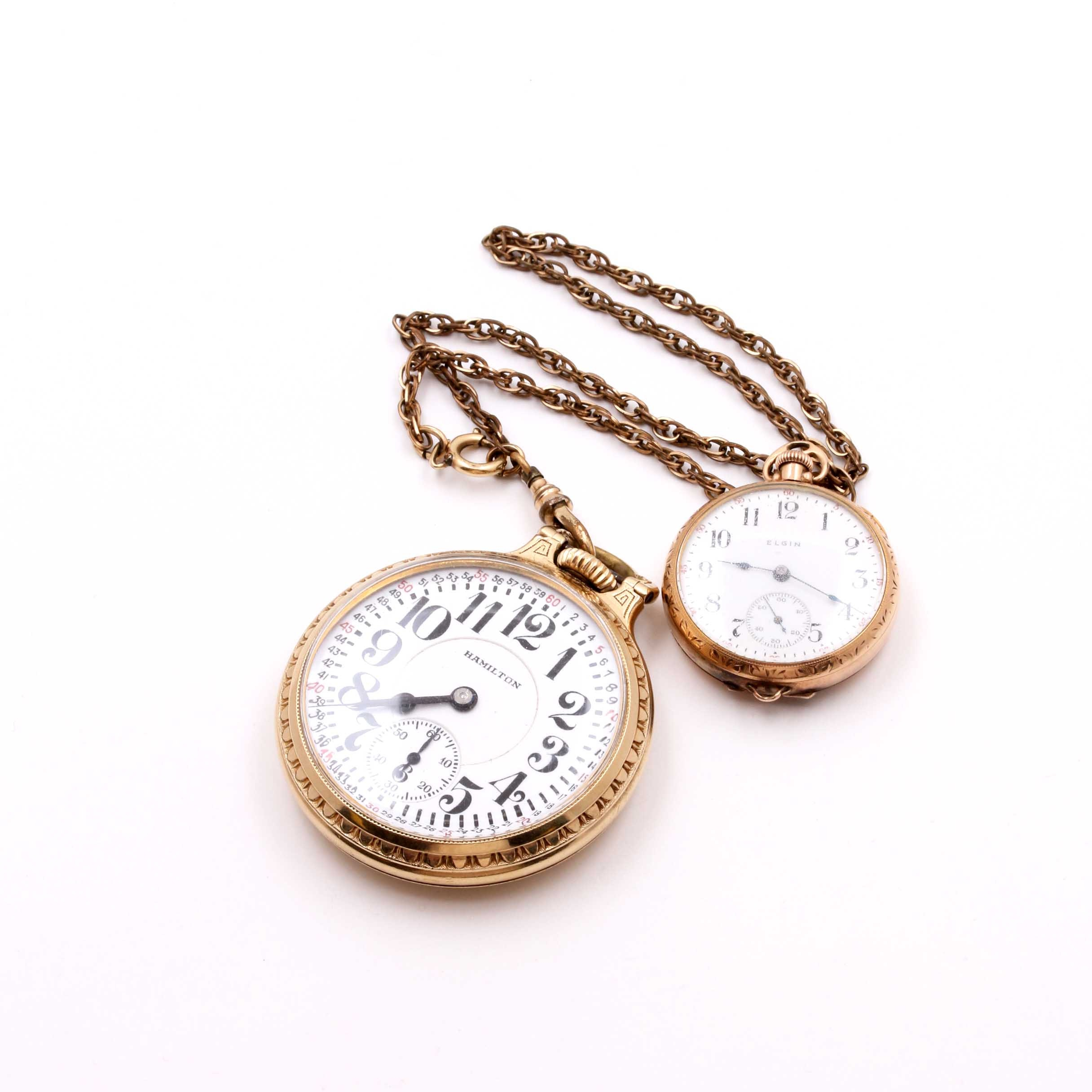 Gold Filled Pocket Watches