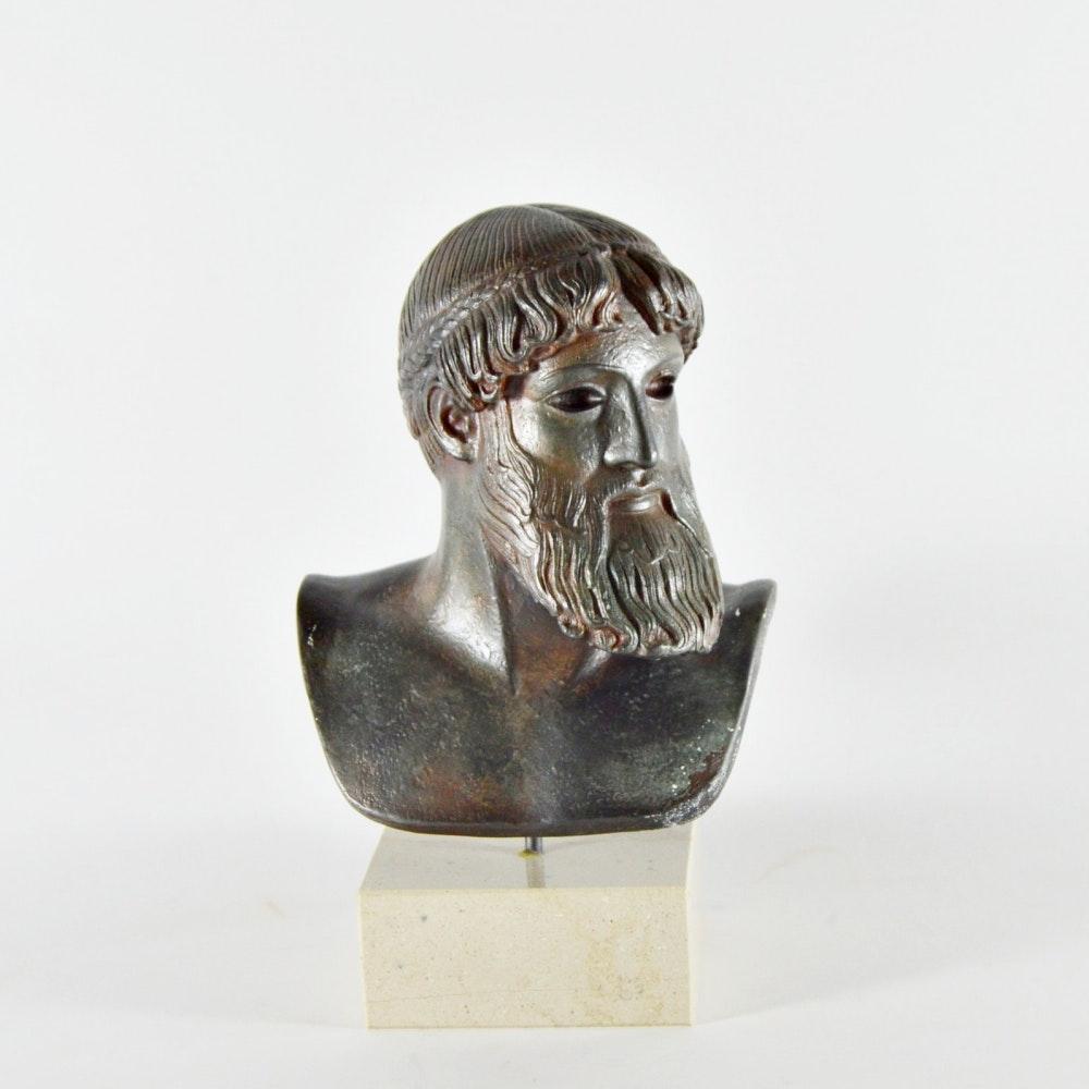 Greek Bust of Zeus