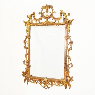 Vintage Rococo Style Wall Mirror