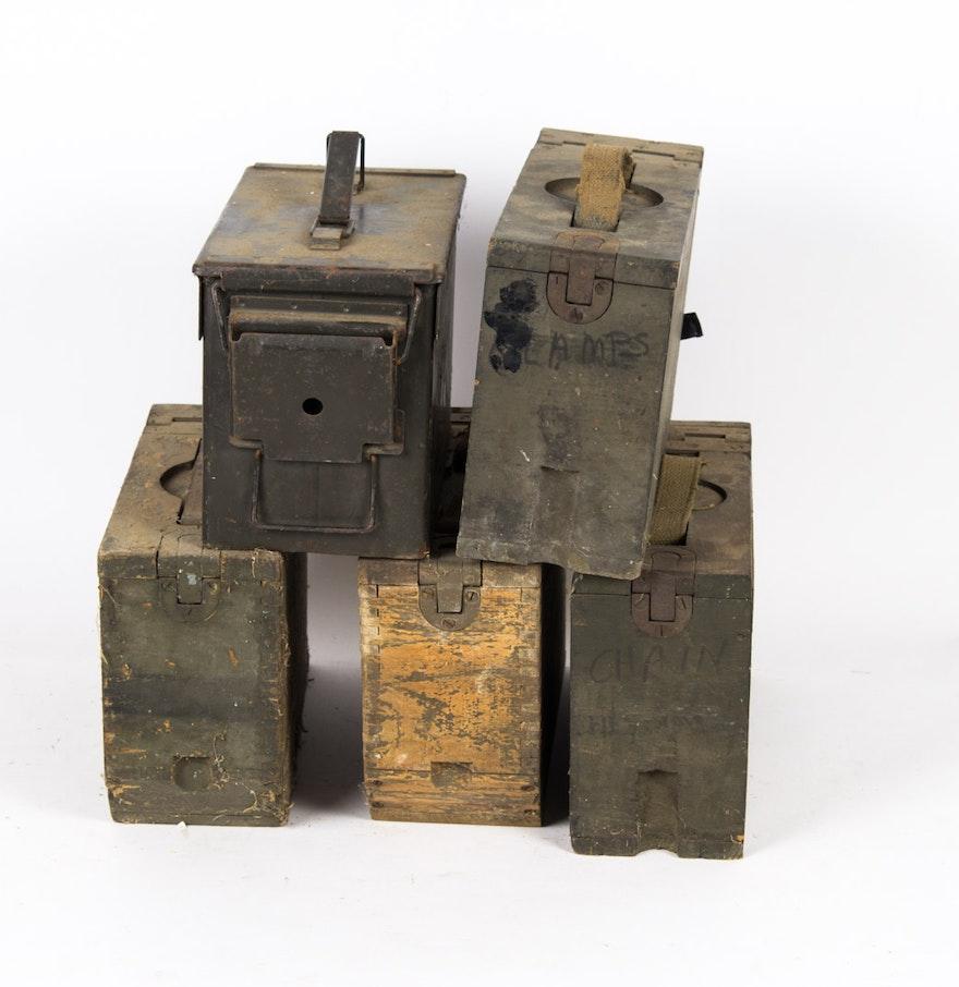Vintage Metal Boxes 5