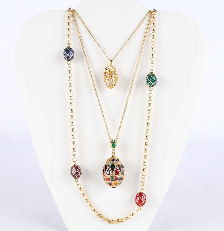 joan rivers necklaces ebth