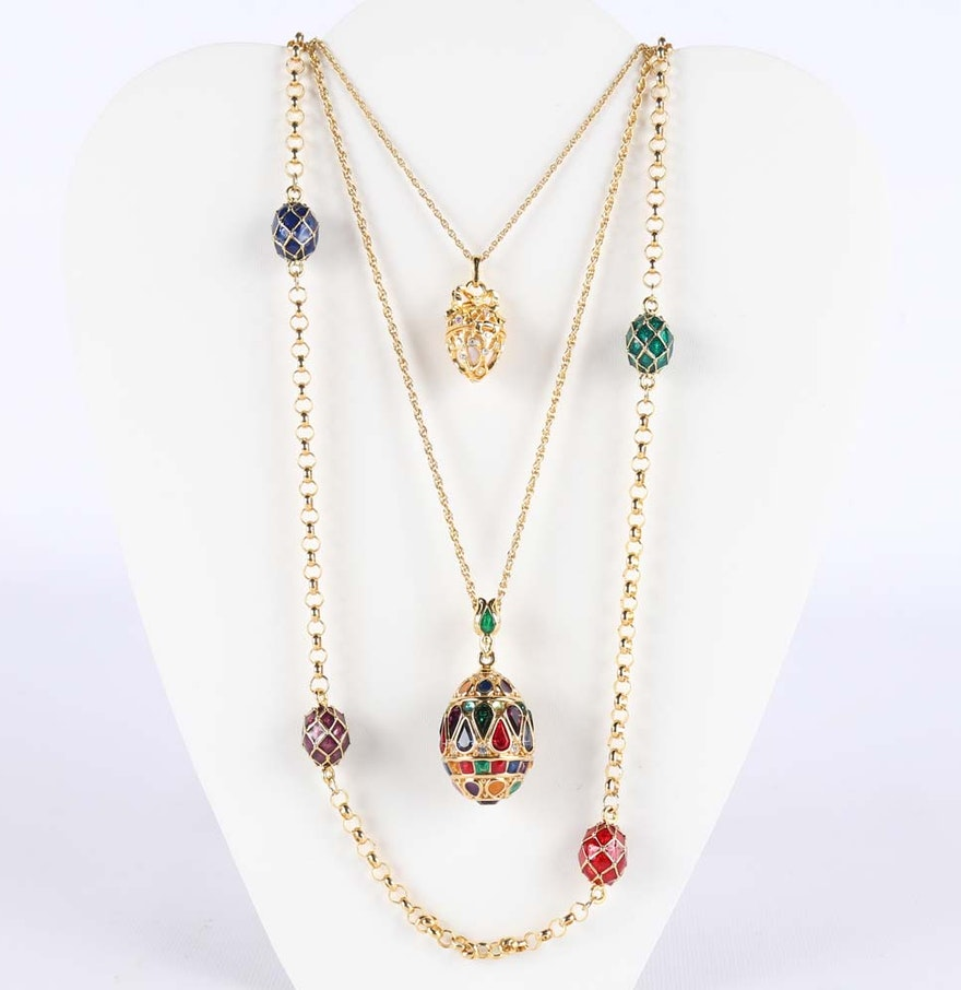 Joan rivers necklaces ebth for Joan rivers jewelry necklaces