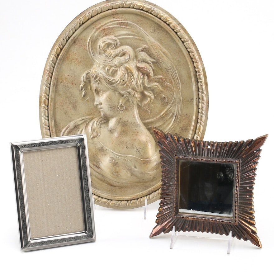 Picture Frames And Plaster Wall Decor Ebth