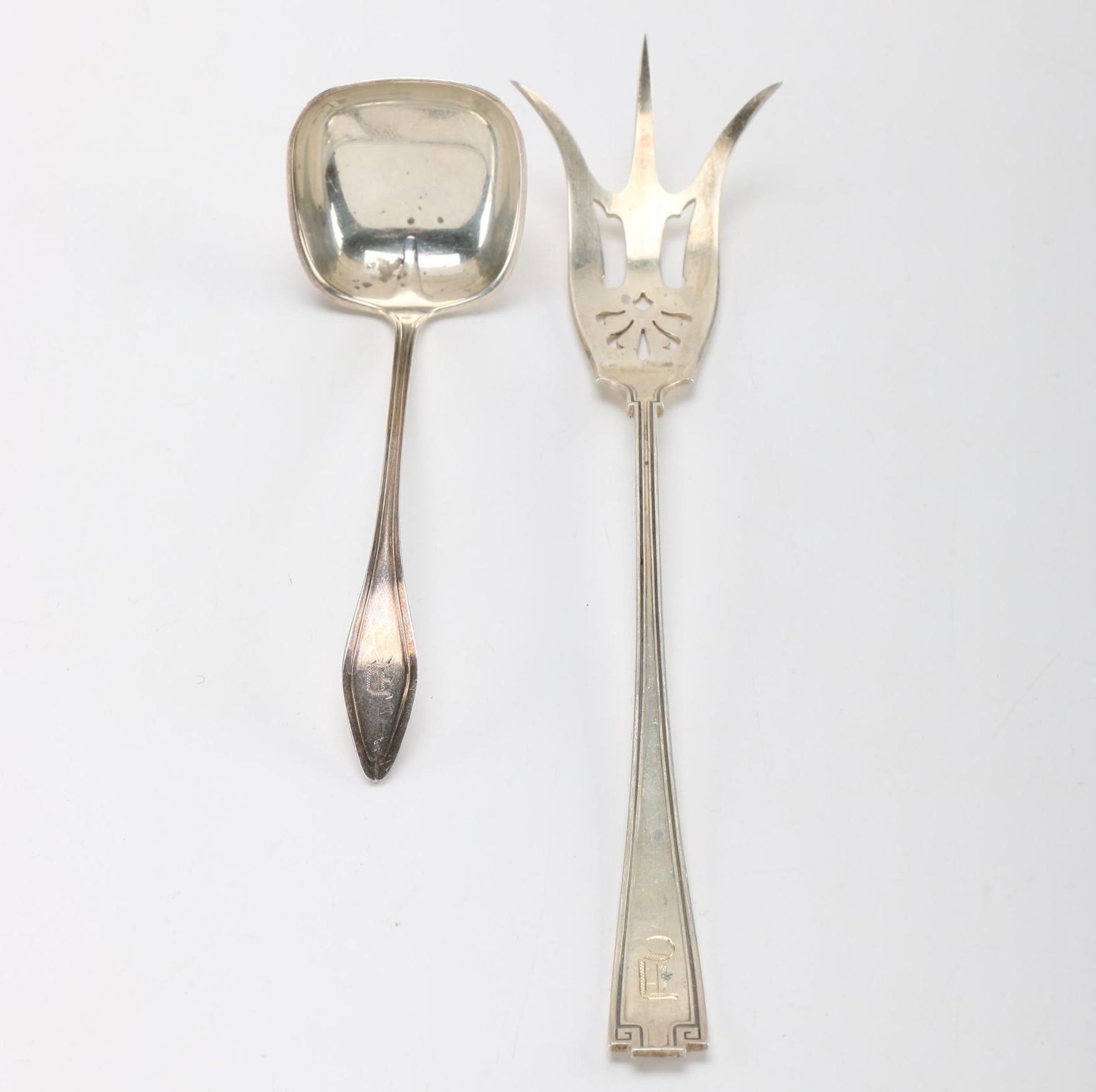 Two Sterling Silver Serving Utensils Including Gorham