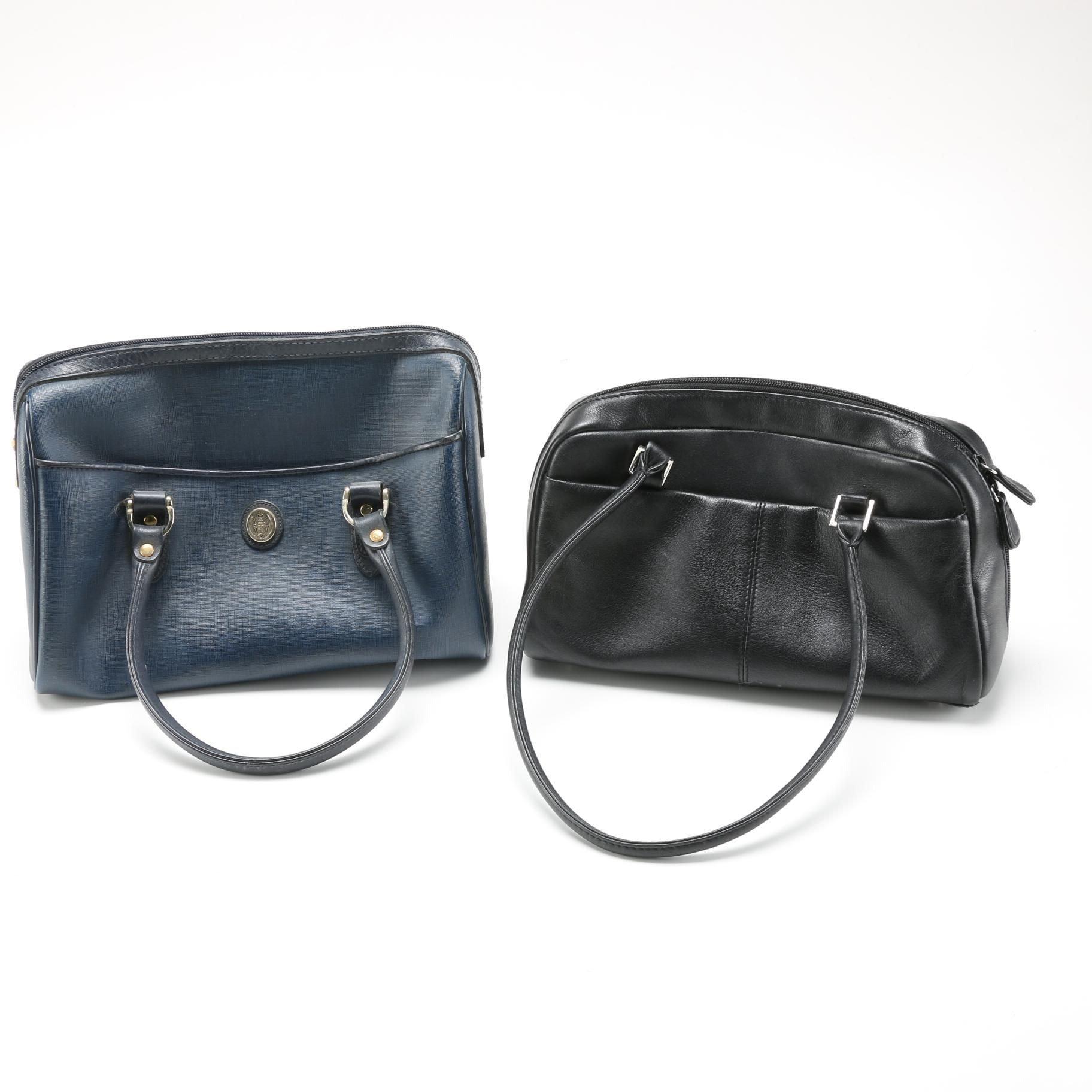 Pair of Liz Claiborne and Etienne Aigner Handbags