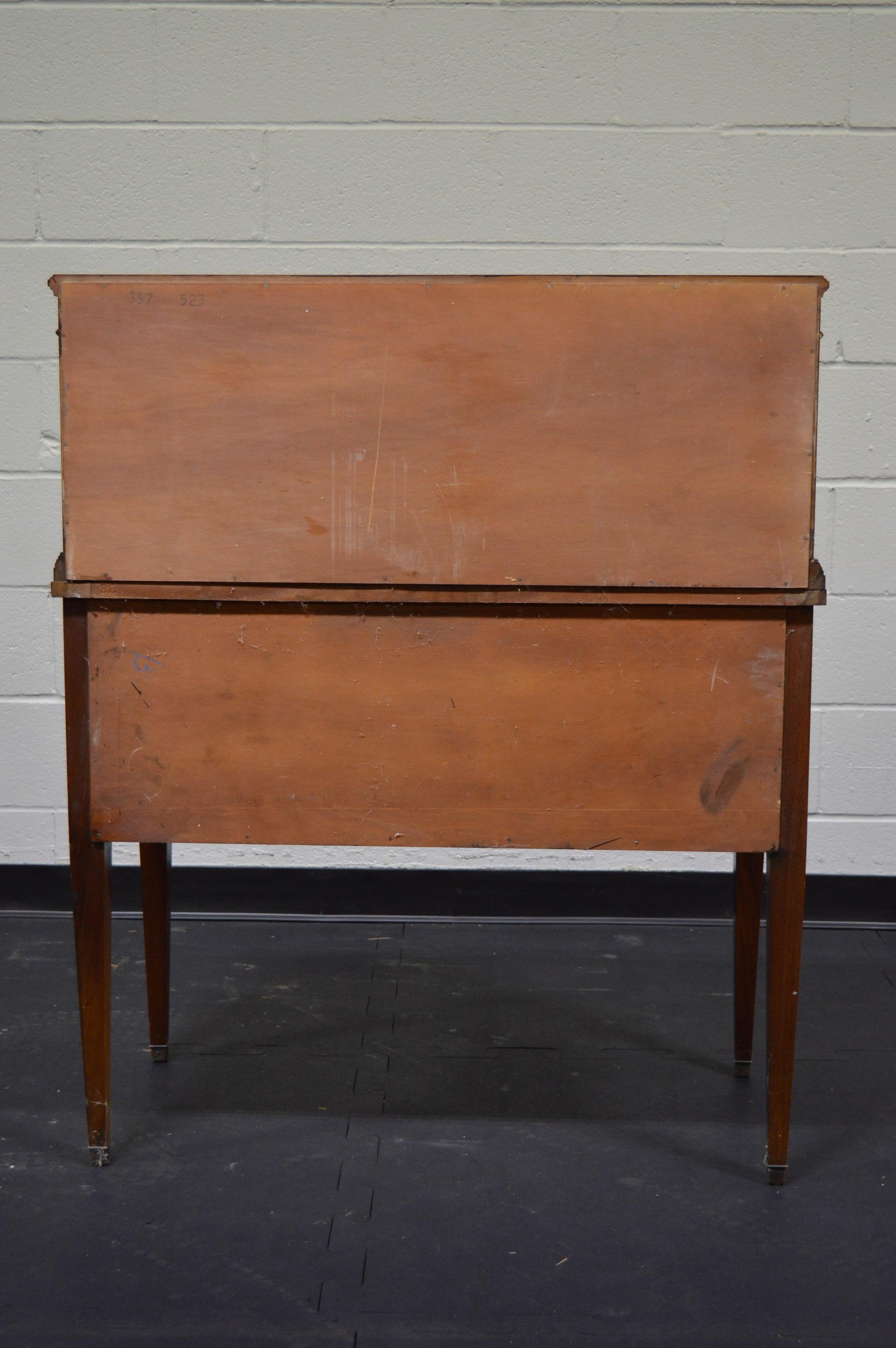 Vintage Sheraton Style Mahogany Ladies Writing Desk Ebth