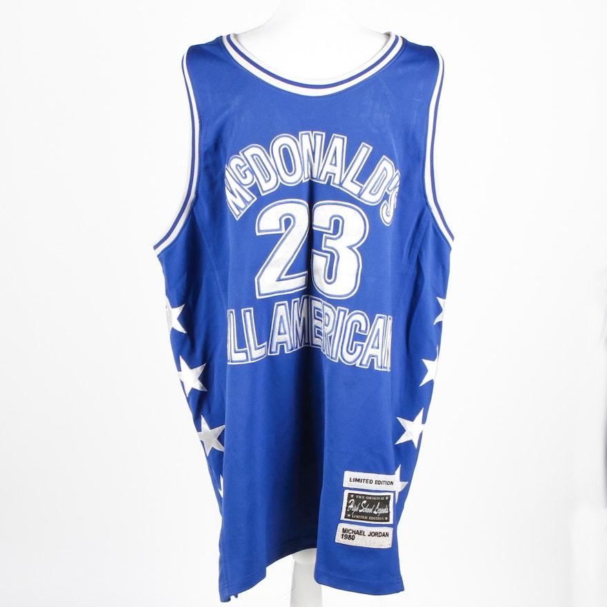 info for 866e8 78c2c Vintage High School Legends Michael Jordan Replica Basketball Jersey
