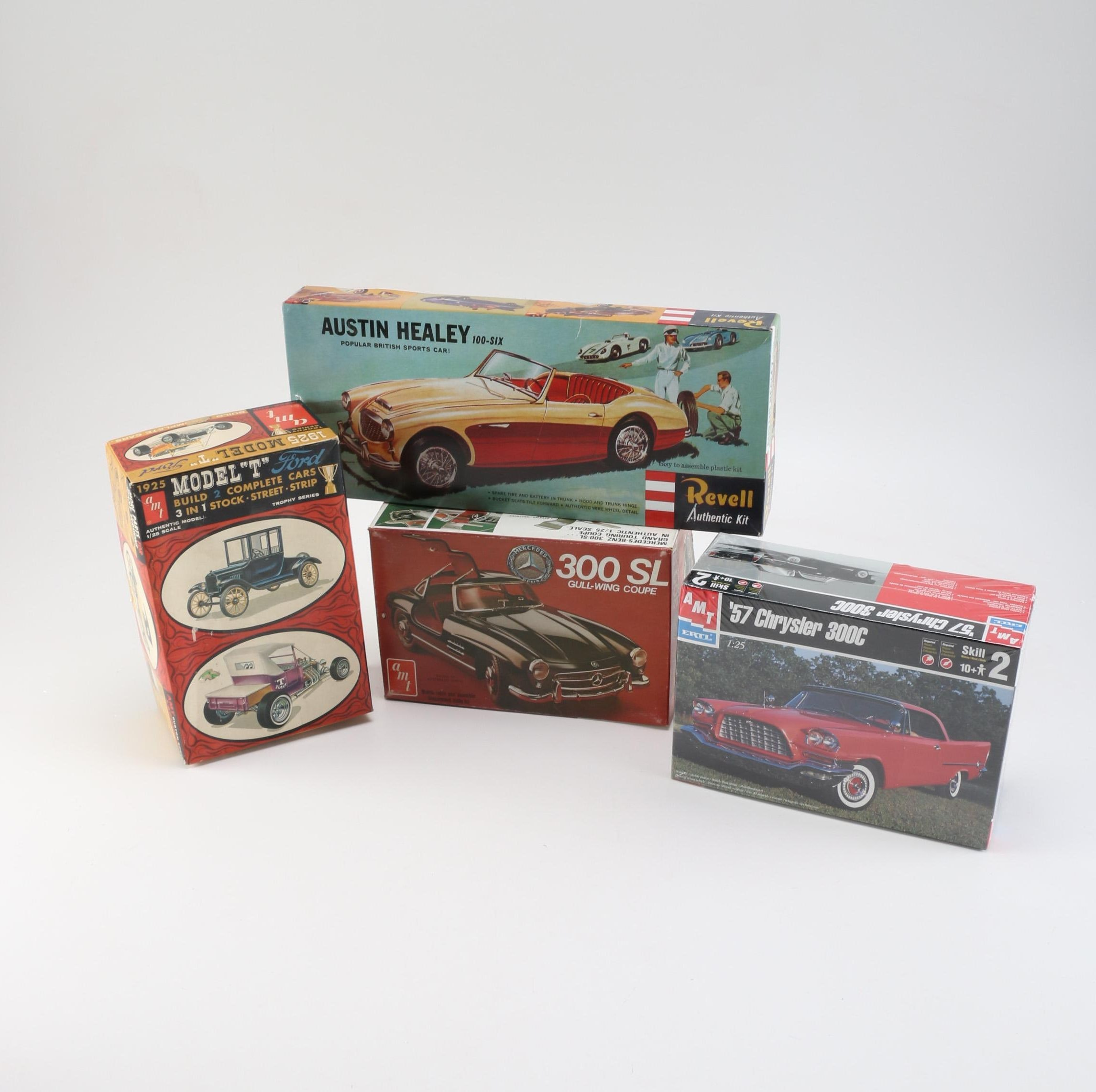 Mid-20th Century Model Car Kits