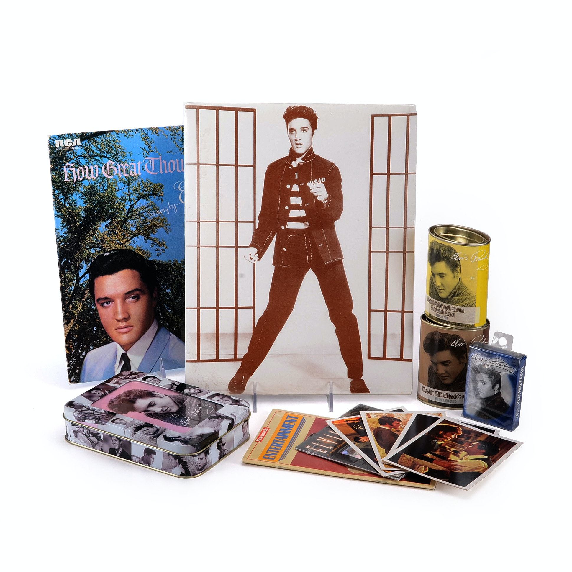 Vintage Elvis Collectibles