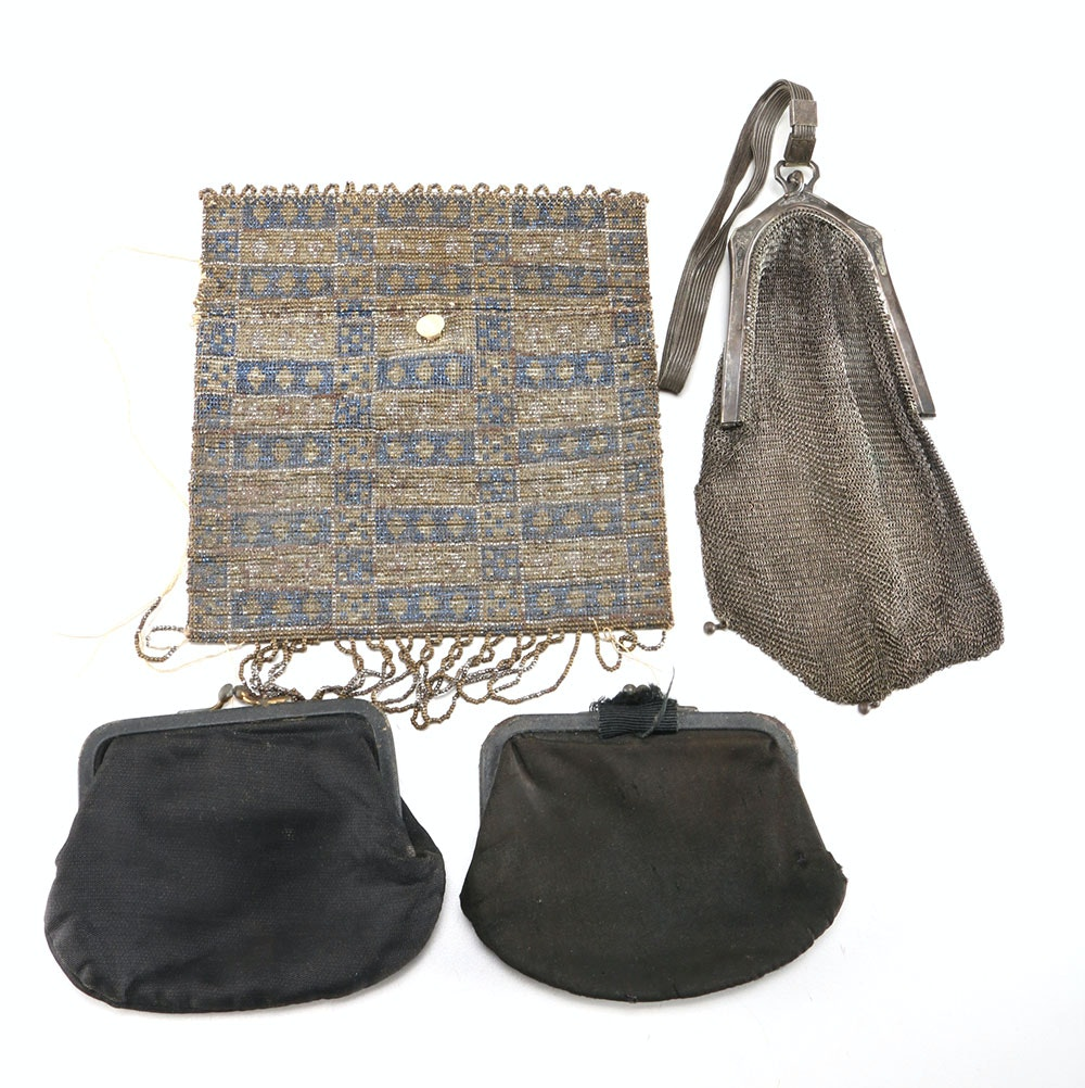 Antique and Vintage Coin Purses and Bags