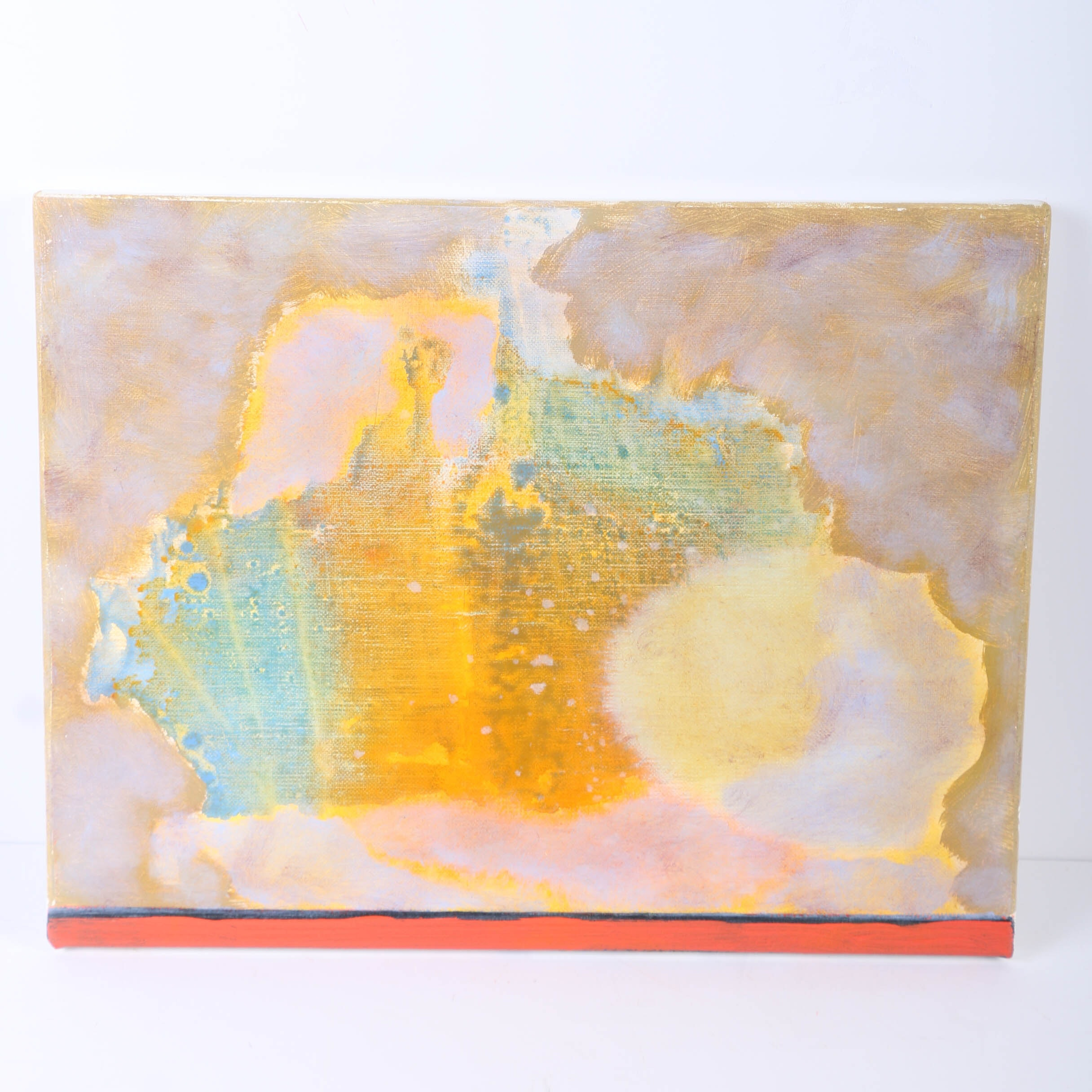 """Ricardo Morin Oil Painting on Linen """"Still Forty"""""""