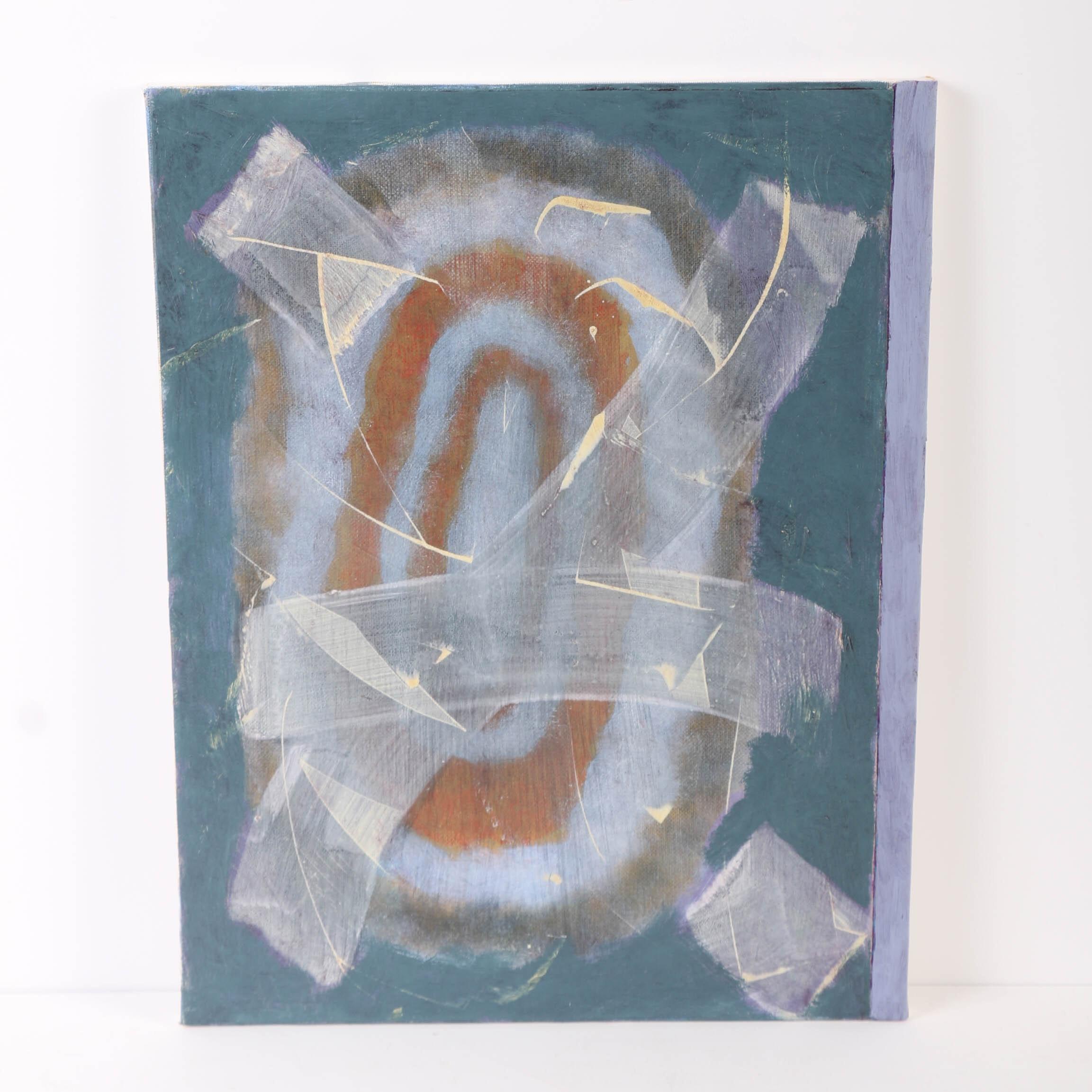 """Ricardo Morin Oil Painting on Linen """"Still Forty-three"""""""