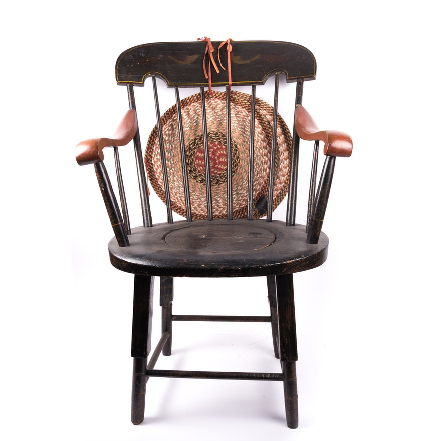 Antique Potty Chair ... - Antique Potty Chair : EBTH