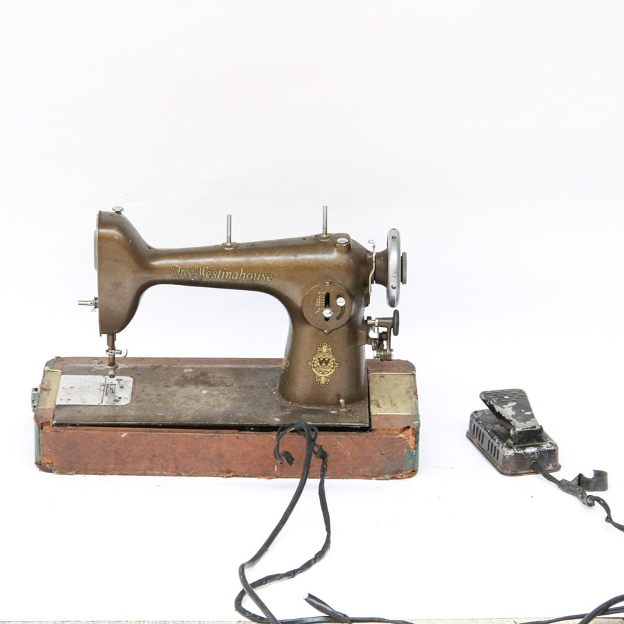 Antique FreeWestinghouse Sewing Machine EBTH Mesmerizing Free Westinghouse Sewing Machine Value