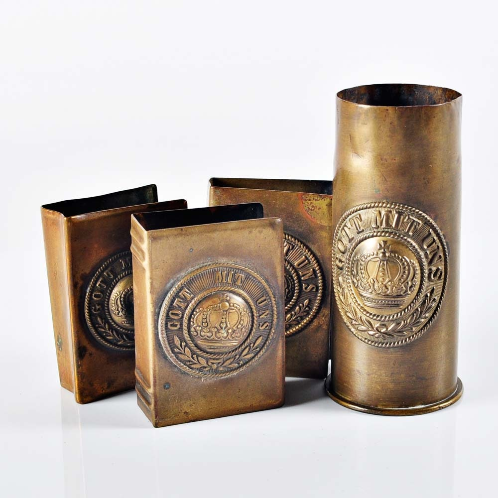 Brass Trench Art Collection