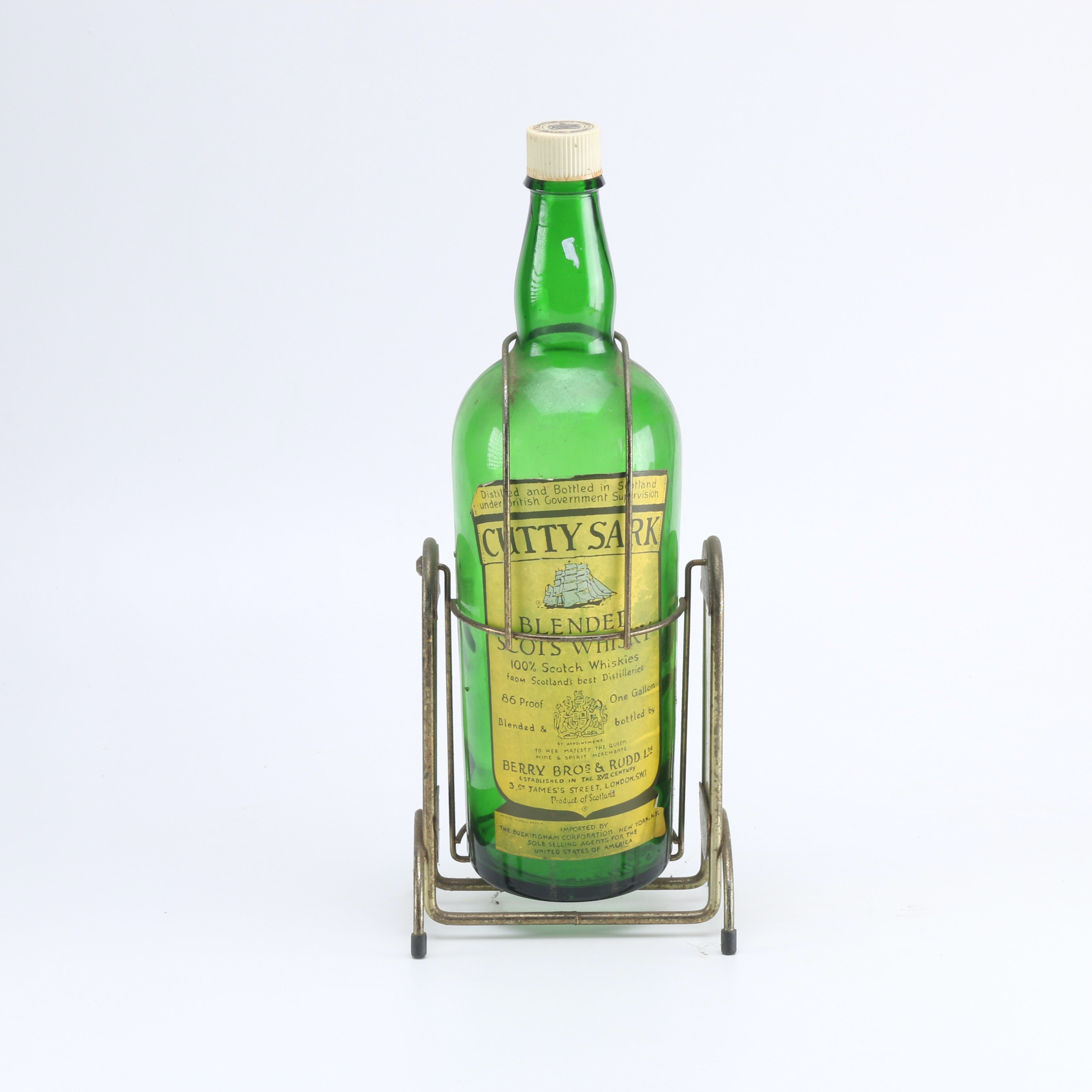 Mid-Century Cutty Sark Whiskey Dispenser