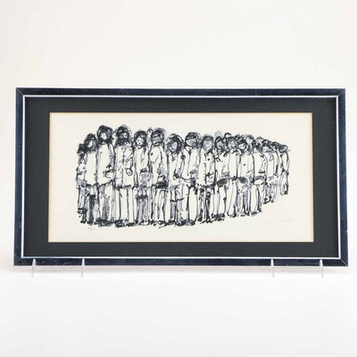 1968 Tami Lonakoff Limited Edition Lithograph