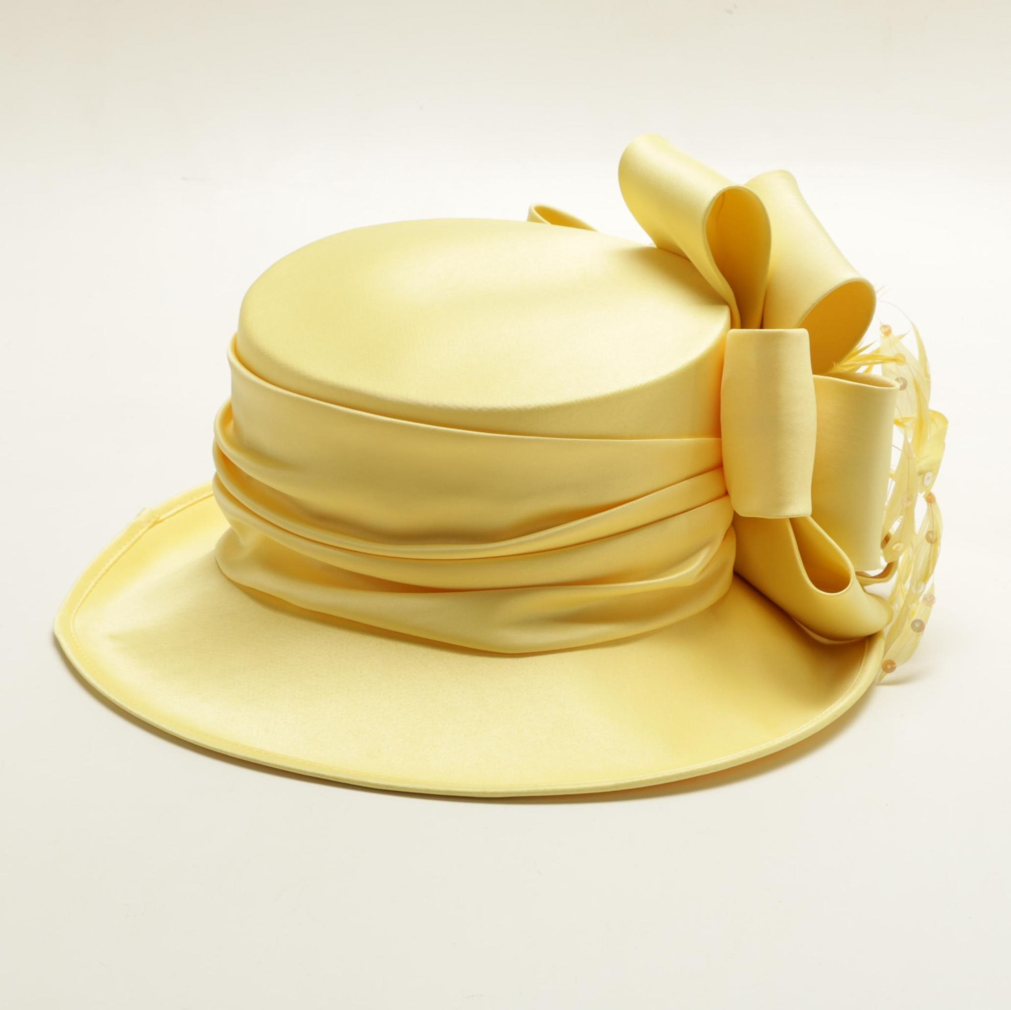 Whitall & Shon Women's Yellow Derby Hat