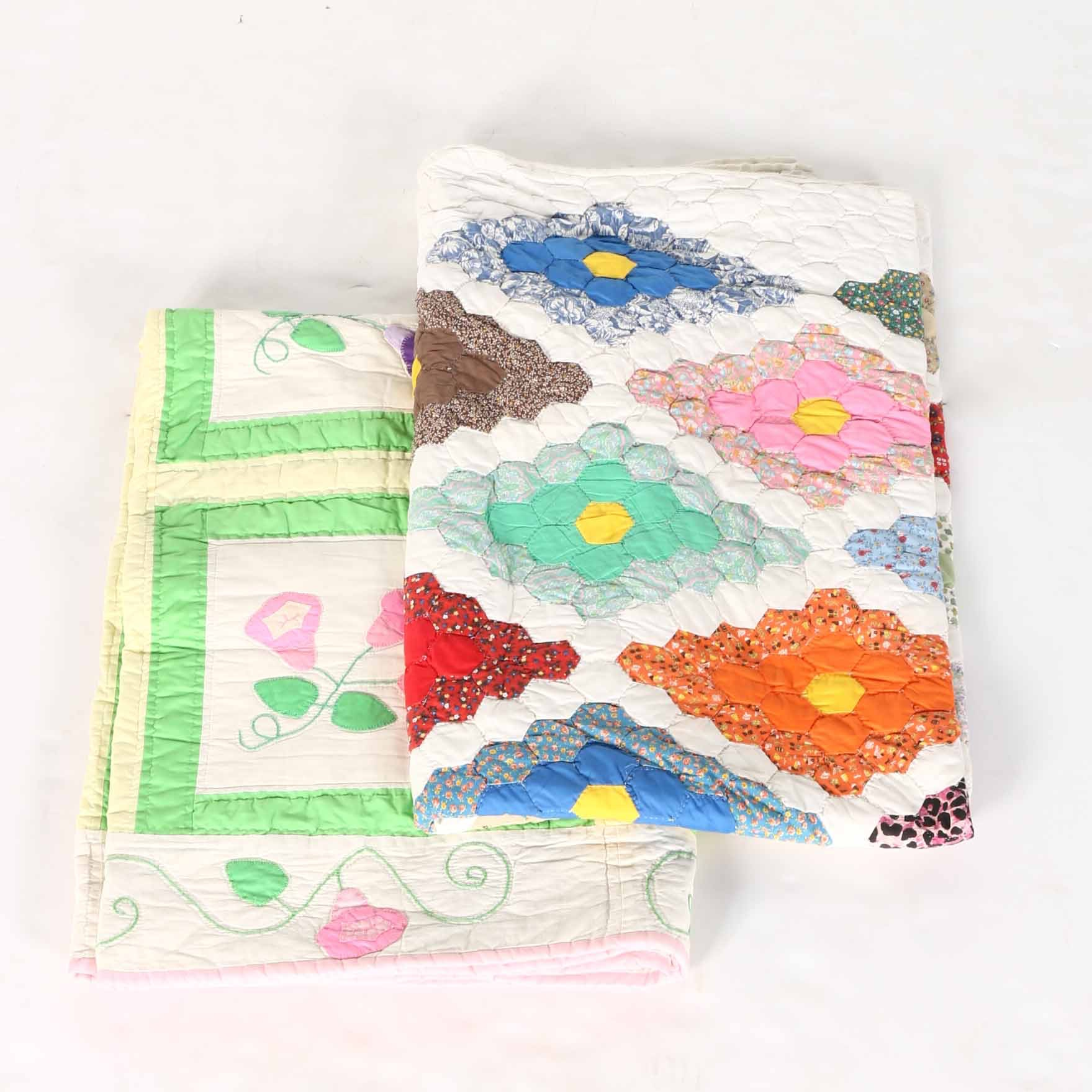 Pair of Handmade Quilts