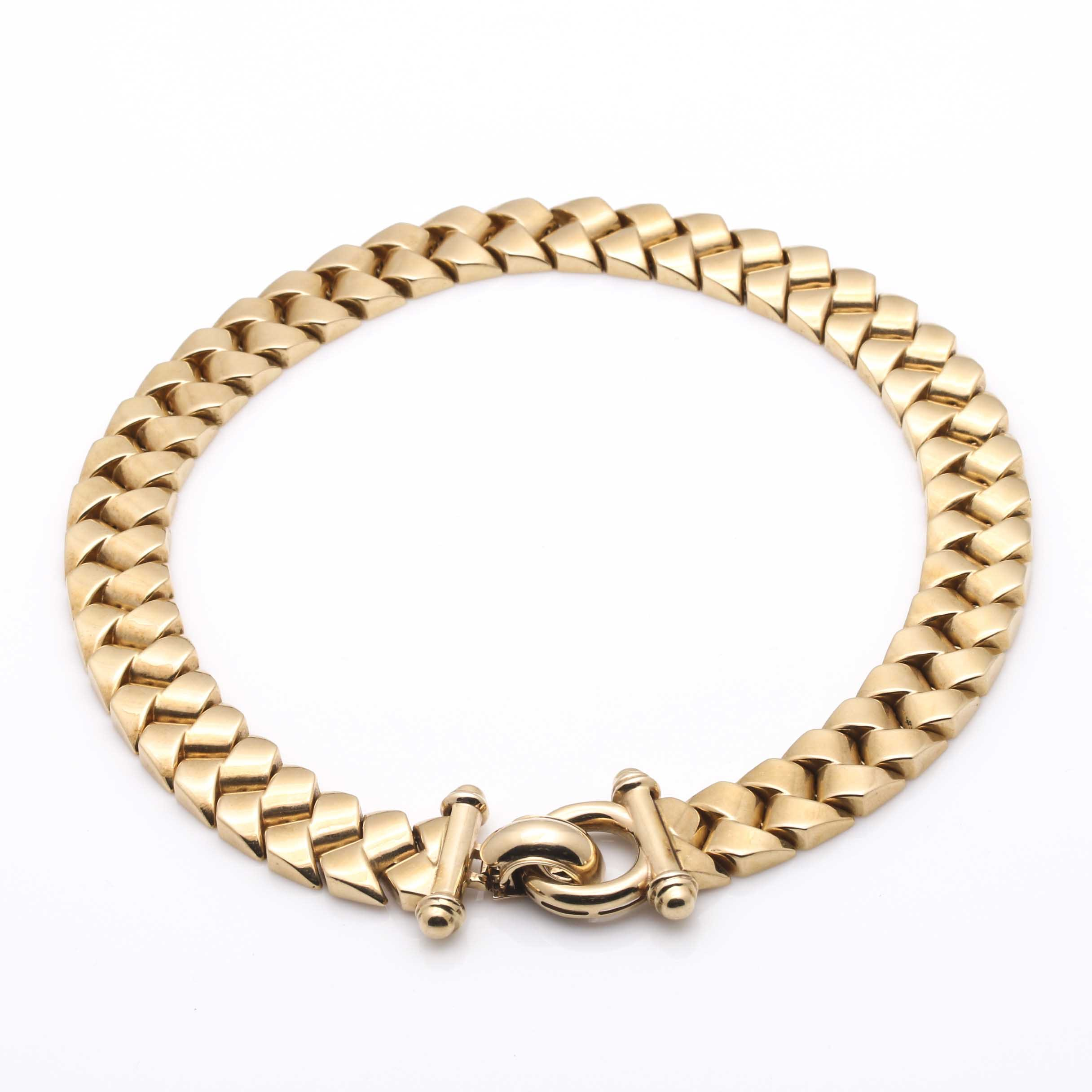 Kitsinian 14K Yellow Gold Necklace