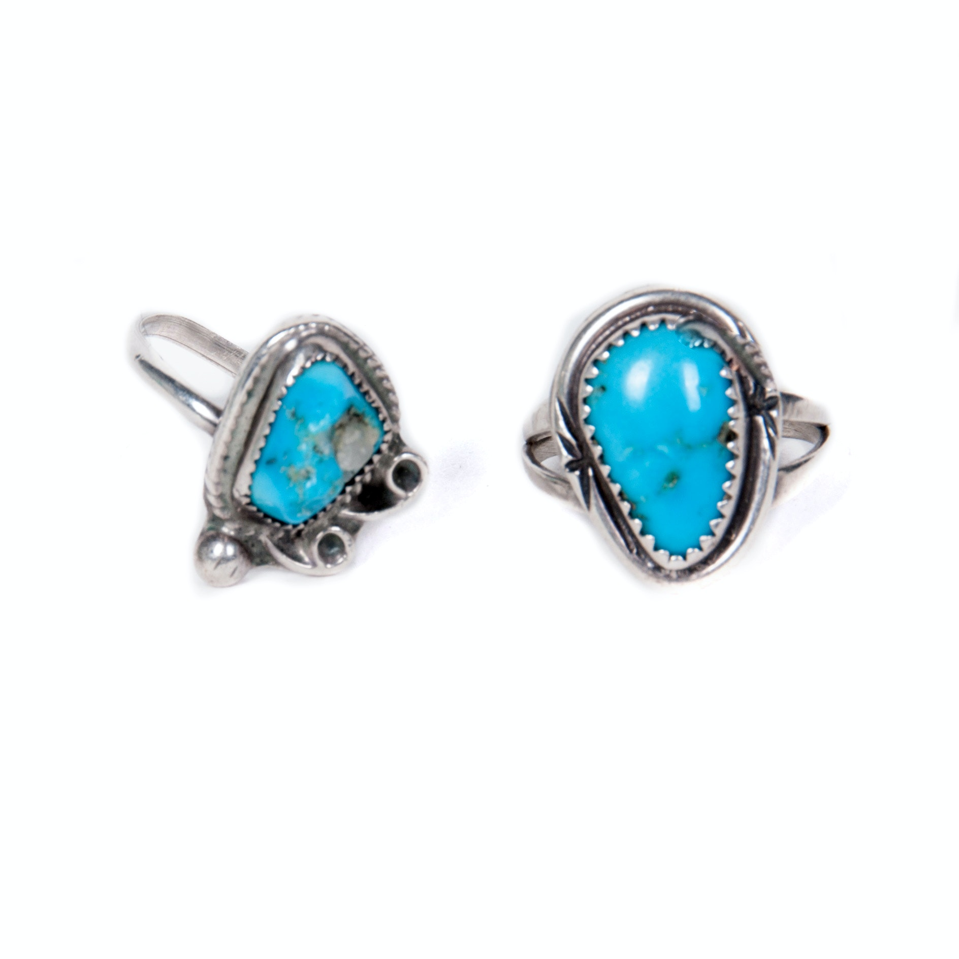 turquoise and sterling silver rings ebth