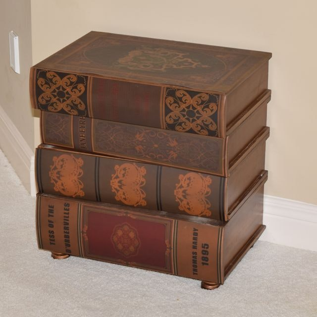 Book Themed Storage Chest