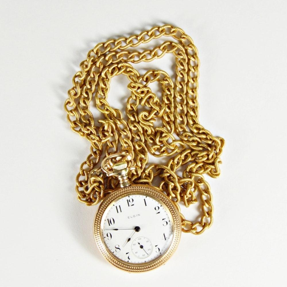 1906 Antique Elgin Pocket Watch
