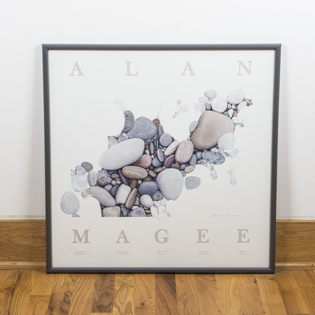"After Alan Magee Offset Lithograph ""Constellation"""