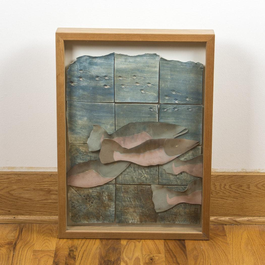 Framed Tile Artwork