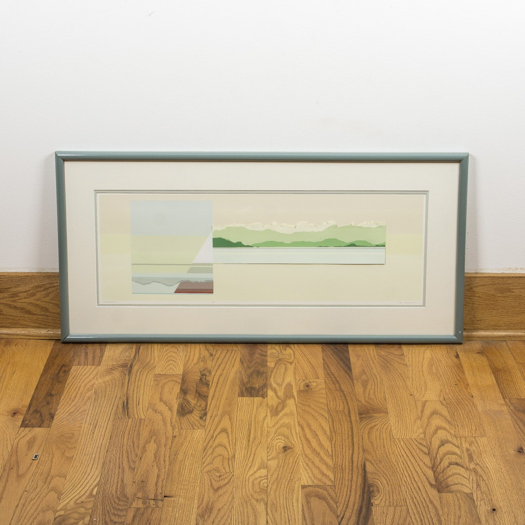 "Betty Kubalak Artist Proof Serigraph ""Anchorage"""