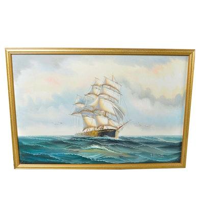 Seascape Acrylic on Canvas