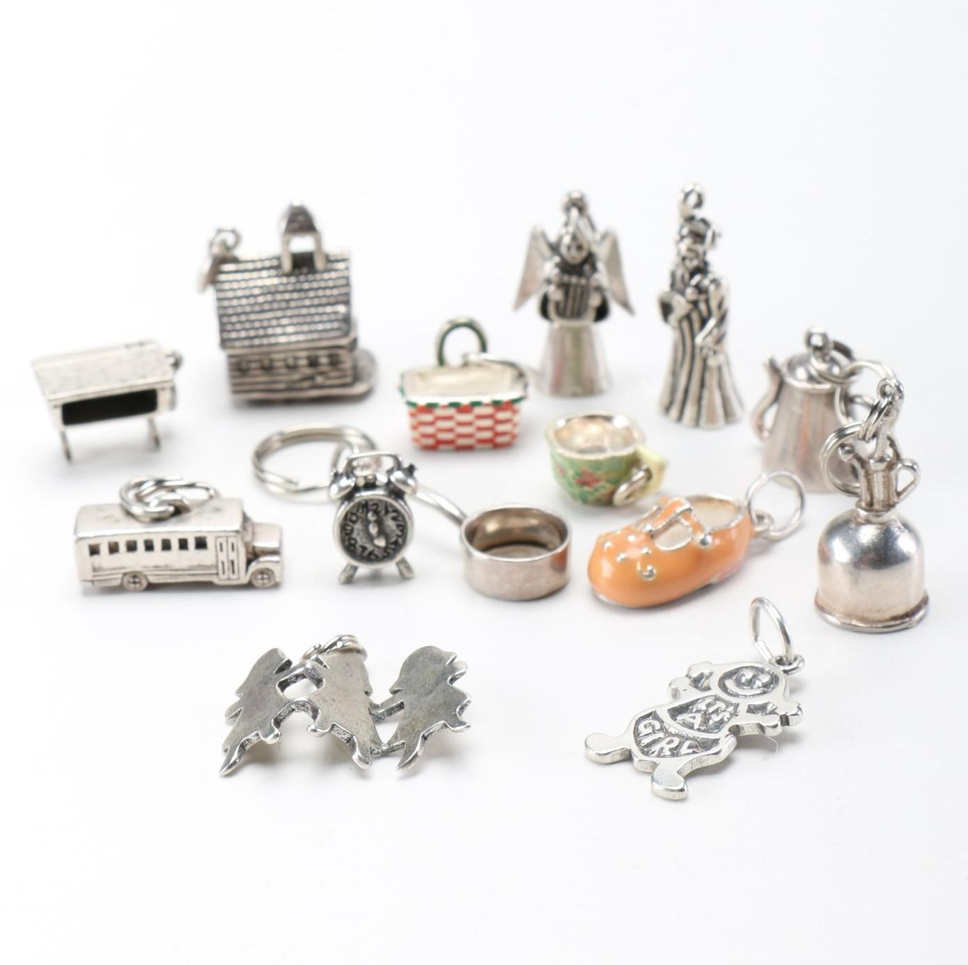 Assorted Sterling Silver Charms