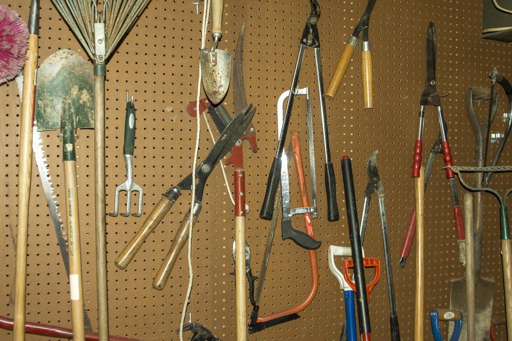 Large Assortment of Garden Tools