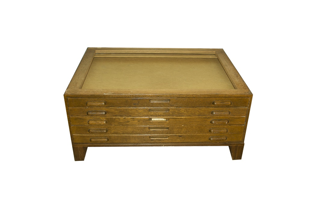 Drafting Paper Supply Chest