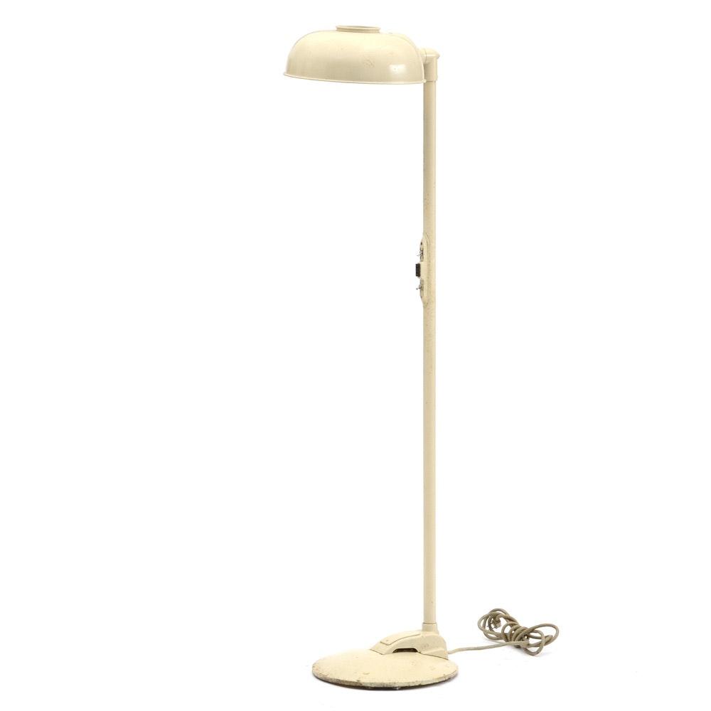adjustable vintage floor lamp