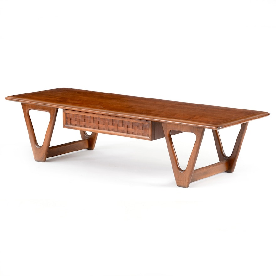 "Mid Century Modern Lane ""Perception"" Coffee Table : EBTH"
