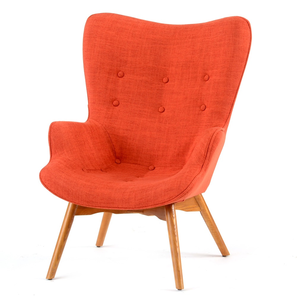 Grant Featherton Style Contour Lounge Chair EBTH